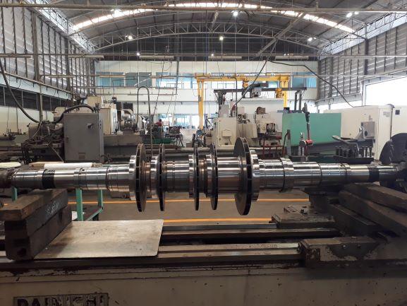 Compressor turbine